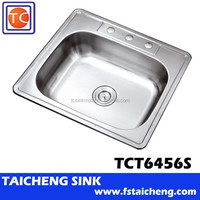 "25"" Single Bowl Stainless Kitchen Sink"