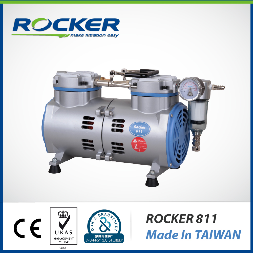 Rocker Scientific New Rocker 811 Electric Micro Piston Vacuum Pump