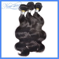 New Star brazilian virgin human hair body wave No shedding wholesale price