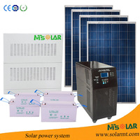 10kw off grid whole house solar power system WIFI smart home security system