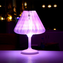 New simple eye-protective charging colorful mini led night desk lamp for home decoration