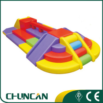 High quality colorful Indoor playground Baby soft toys equipment used soft play equipment for sale