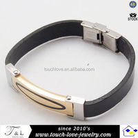 Fashion stainless steel lucky jewelry blood pressure control bracelet