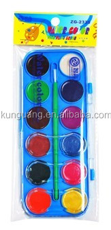 Good quality 12colors non-toxic artist water color
