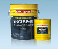 Odorless Single Component Polyurethane Waterproof Roof Coating