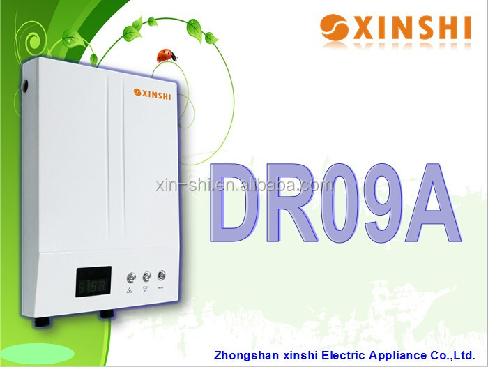 Bathroom Tankless / Electric Instant Water Heater of 7.5kw 220v for bathroom shower (DR09A)