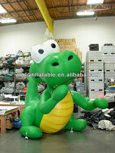advertising inflatable lovely dragon model