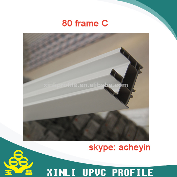 durable upvc profile window and door frame upvc raw material