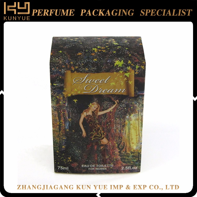 New type top sale perfume packaging for wholesale