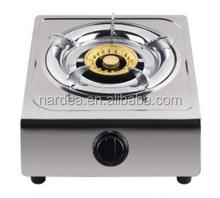 Stainless steel Single Burner Gas stove/Gas hob/Gas cooker