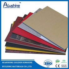 PE/PVDF Aluminum composite panel wall claddings with CE