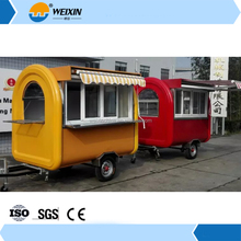 Outdoor Mobile Motorcycle Food Cart