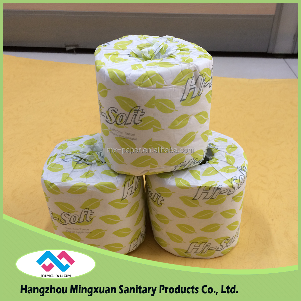 2016 Hot Selling Color Toilet Roll Roll Paper