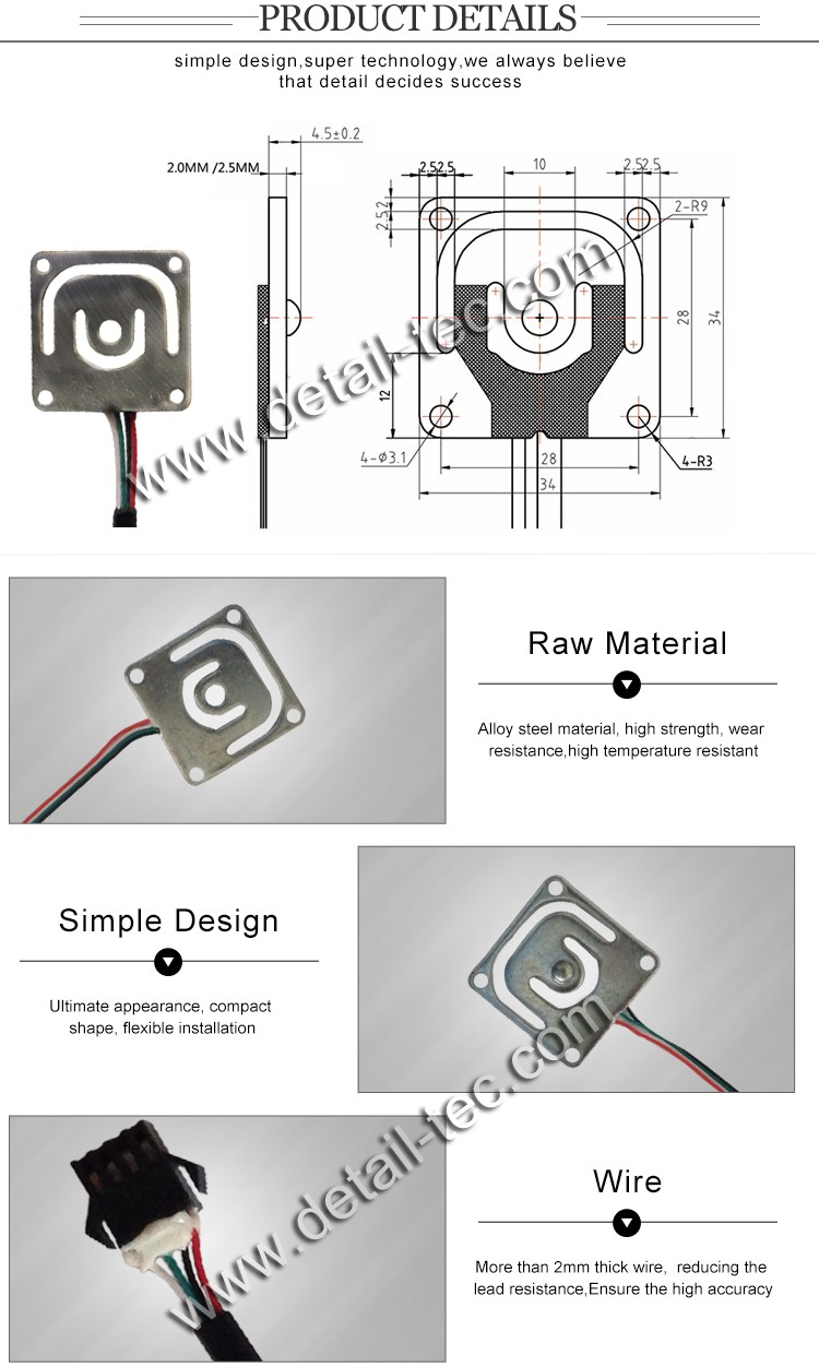 Dlc928da High Accuracy Micro 10kg Load Cell Buy Cellmicro 4 Wire Wiring