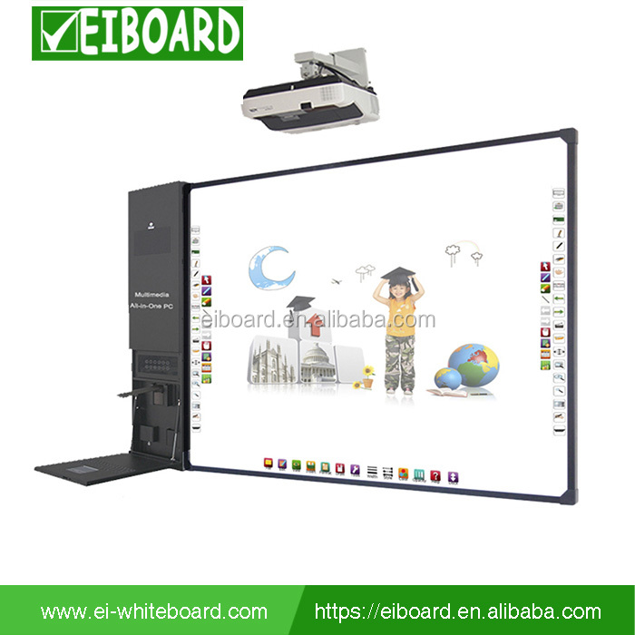 School office equipment all-in-one digital touch screen interactive white board