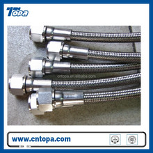 R14 PTFE Teflon flexible crimping 2 inch high pressure hose