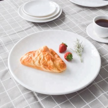 TaiYuanMei Manufacturer Dinner plate melamine buffet plates Wholesale <strong>flat</strong> round serving plates for restaurants