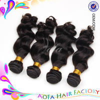 Quality Guarantee 100% Raw Indian Virgin hair ,Wholesale Pure Indian Remy Virgin Human Hair Weft