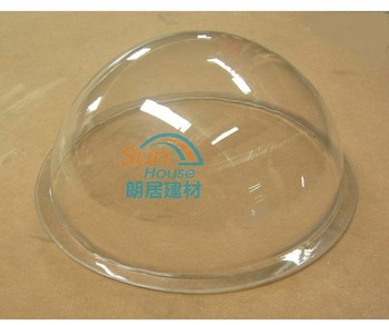Polycarbonate solid sheet thermal forming skylight