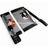 Multifunctional A4 paper cutter for slitting perforating and wave cutting