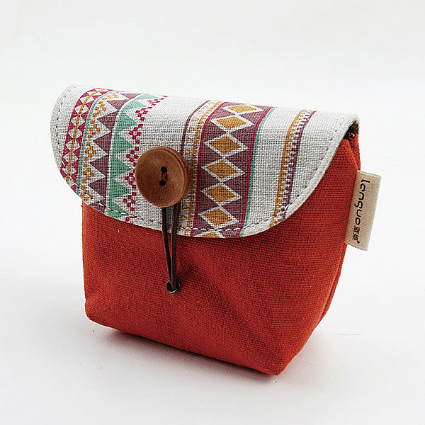 LANGUO handmade coin purse / coin bag with fashion design for wholesale model:LGSG-1750
