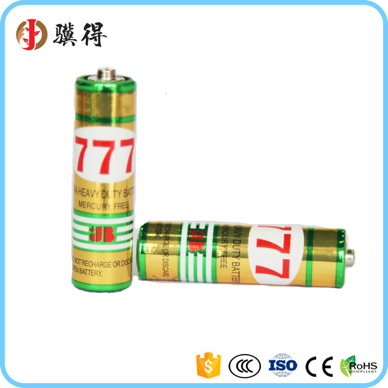 Customized professional 1.5V ZincMnO2 battery aa/r6p/um3 1.5v bulk package with price