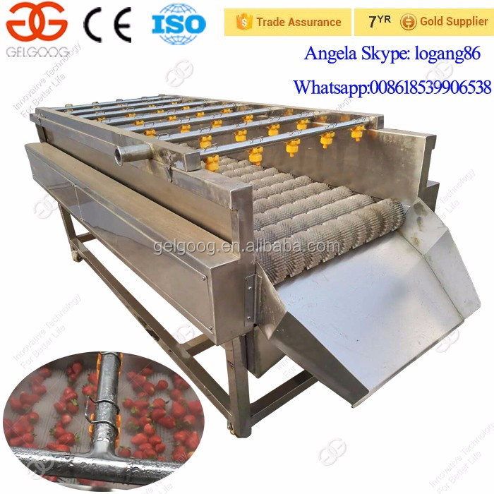 Factory Supply Automatic Industrial Vegetable Washing Machine Fruit Washer Price