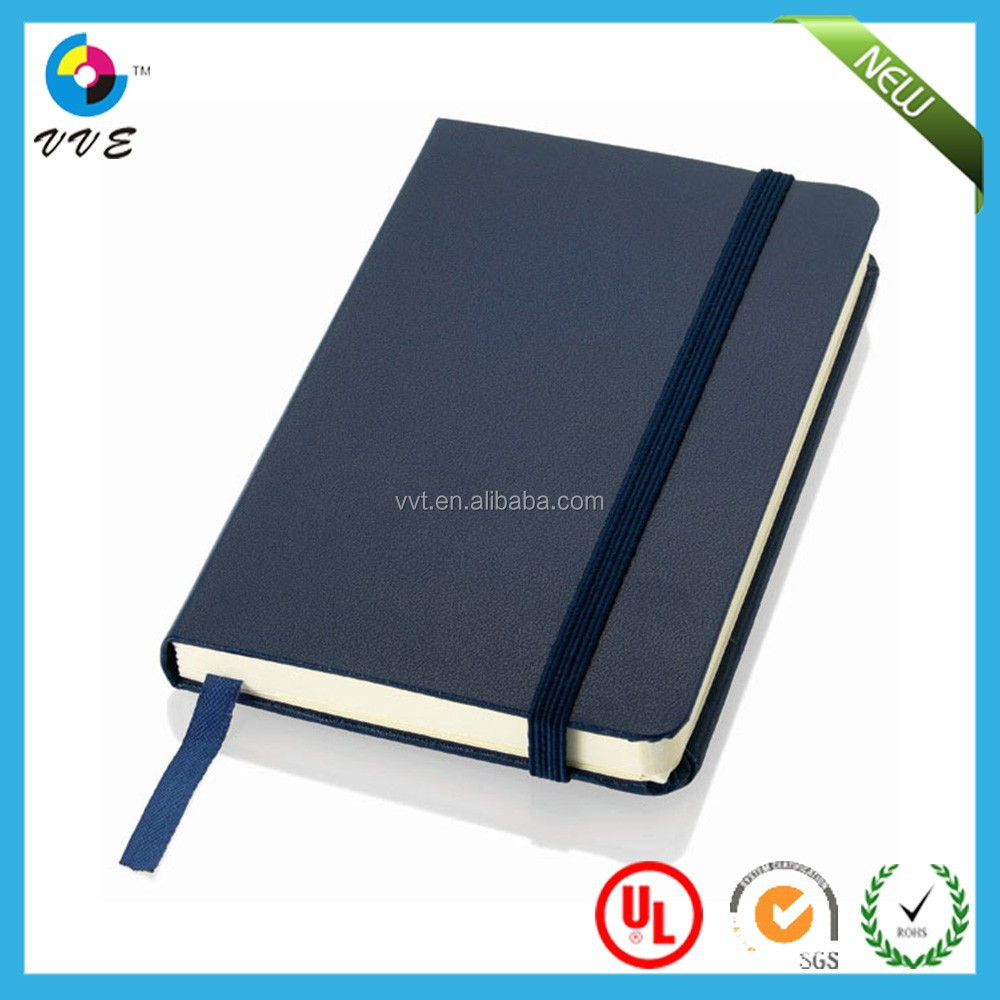 PU leather 2015 agendas hard cover for promotion