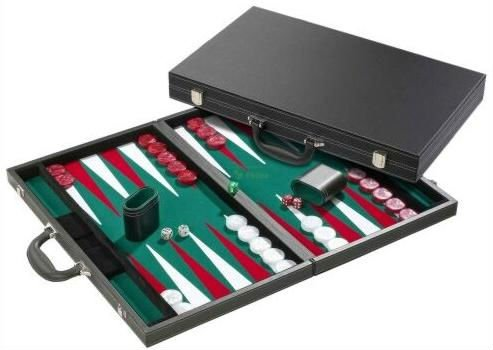 Backgammon case 53 cm