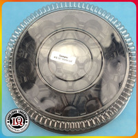 Disposable Pet Plastic Cake Tray With Lid