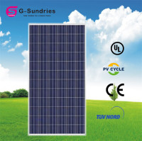 CE/IEC/TUV/UL polycrystalline 260w solar panels with built in inverters