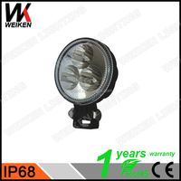 WEIKEN 9W IP67 Best Chip High Bright LED Work Light For Komatsu