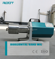 Table placed small lab pigment grinding machine