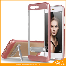 Hot Selling TPU PC Frame Combo Kickstand Case for Huawei P10 Case