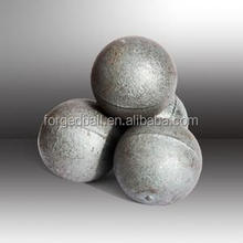 China manufacturer supply forged and high chrome steel balls in all sizes