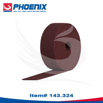 143.324 Red Abrasive Scouring Roll