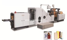 Paper bag making machine for different paper bags
