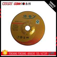 Hard stainless steel grinding wheel for sharpening carbide tools