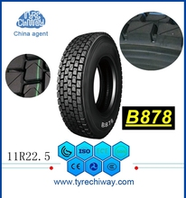 wholesale cheap commercial chinese brands 11R22.5 truck tires for sale