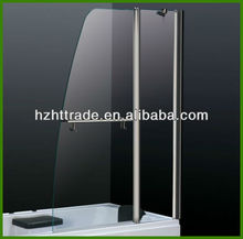 Bathroom bs6206 6mm tempered glass folding bathtub shower door