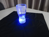 350ML Flashing LED plastic cup novelty light up cup