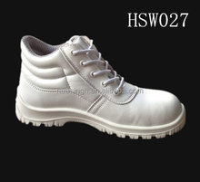 microfiber leather SRC white cleanroom work wear lightweight nurse medical safety shoes