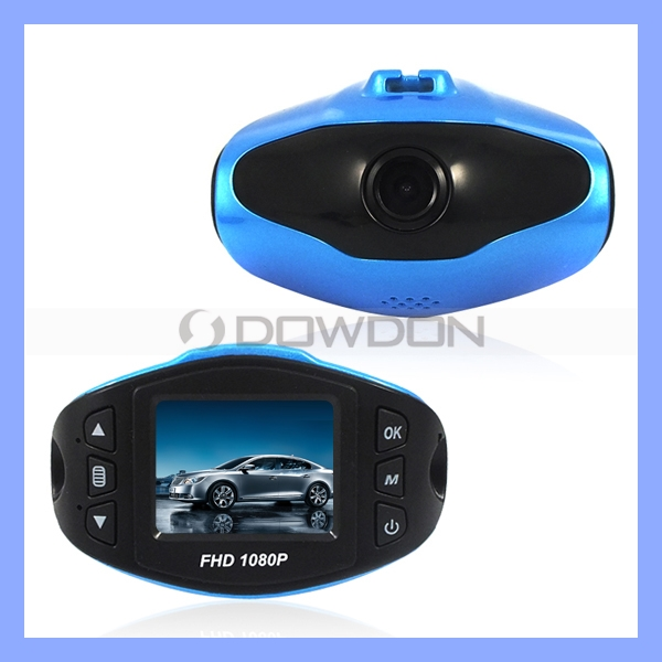 HD 1080p Portable Car Camcorder with 140 Degree Super Wide Angle Lens High Resolution Micro Car Dash Camera