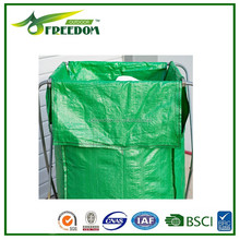 Woven polypropylene bags outdoor trash bag holder