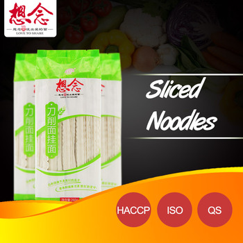 OEM whole wheat flour sliced noodles