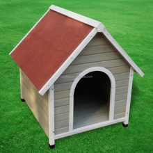 Easily Assembled wooden pet house 84*101*86.5cm solid wood dog kennel Customized size acceptable
