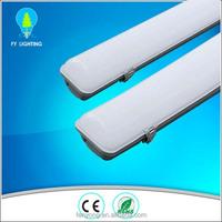100lm/w T8 40w waterproof tri-proof light led, 4ft triproof led light IP65 4ft tri-proof led lamp