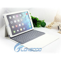 New arrival PU leather flip case cover bluetooth keyboard case for ipad air 2,for ipad 5