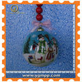 Sell christmas balls,glass ball ornaments,Inside painted christmas ball