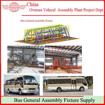 Building First Coaches Production Line and Equipments In Africa Countries